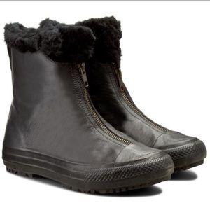 Converse Shearling Fur Boots Chuck Taylor 7 9 Rare
